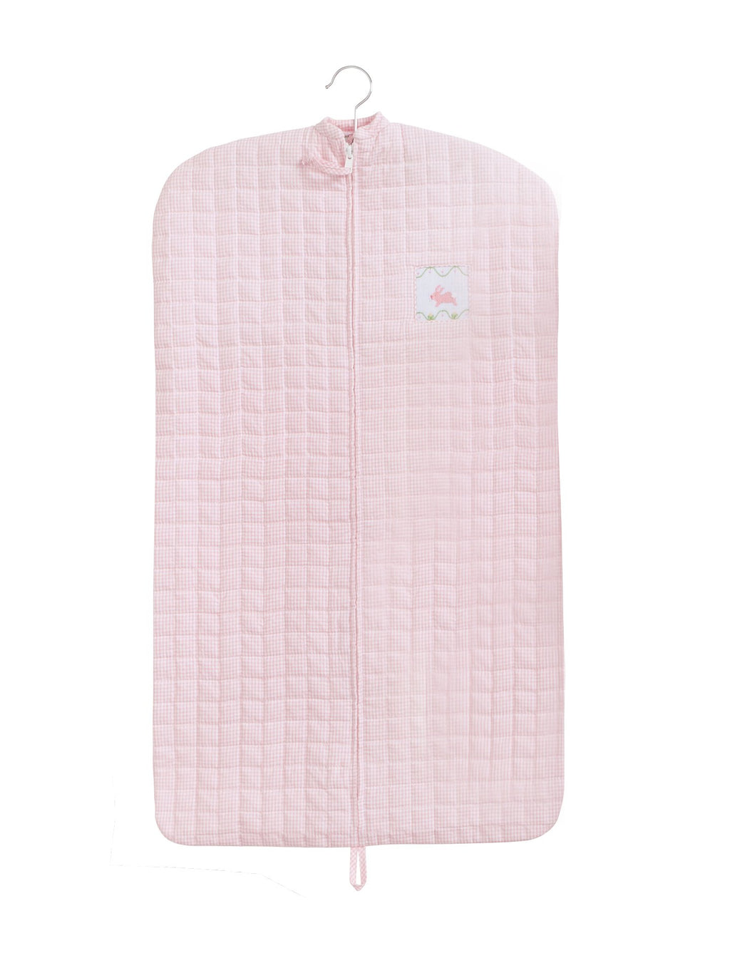 Quilted Pink Bunny Garment Bag - Born Childrens Boutique