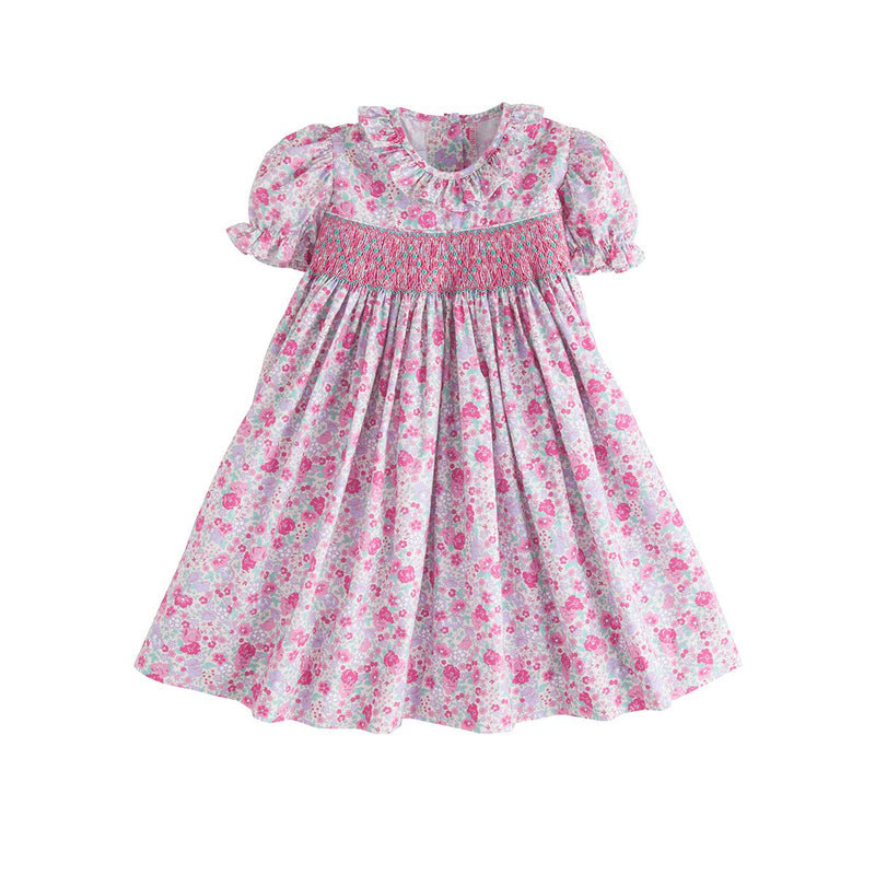 Smocked O'Day Dress - Born Childrens Boutique