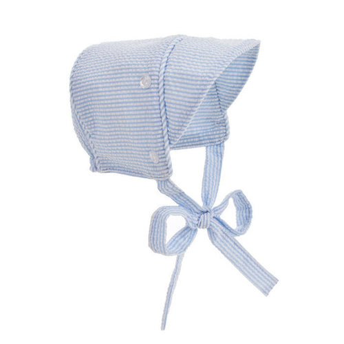 Beaufort Bonnet Barringer Bonnet Breaker Blue Seersucker - Email to Order