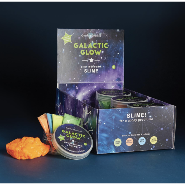 Galactic Glow Slime - Born Childrens Boutique