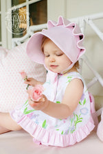 Beaufort Bonnet - Palm Beach Pink - Born Childrens Boutique