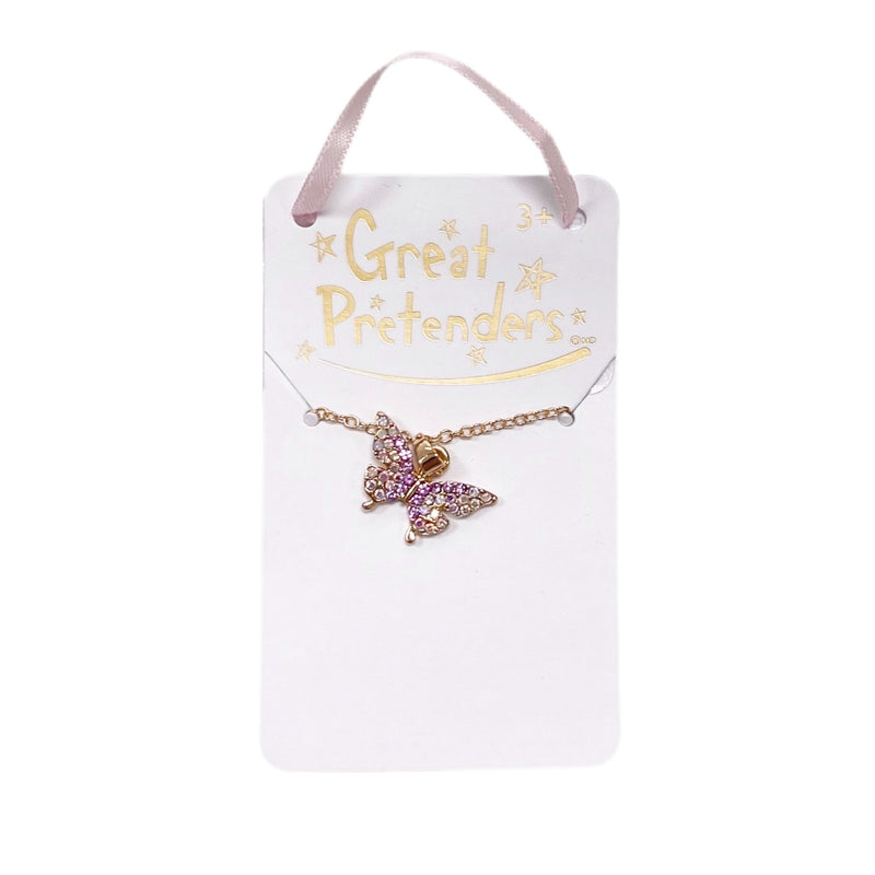 Boutique Butterfly Gem Necklace - Born Childrens Boutique