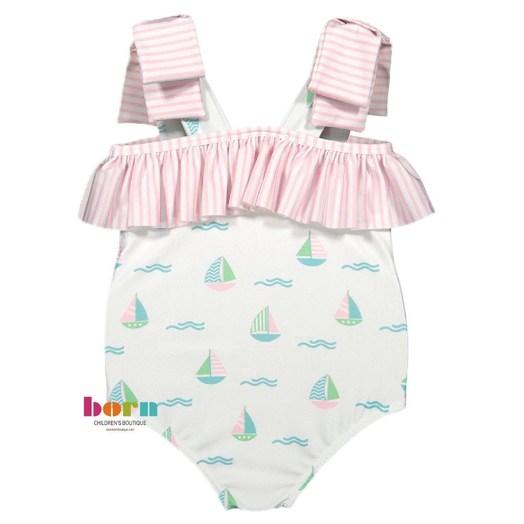 Set Sail Swimsuit - Born Childrens Boutique