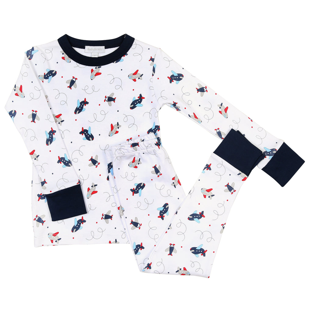 In Flight Long Pajama LB - Born Childrens Boutique