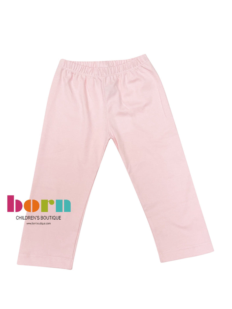 Squiggles Leggings Pink - Born Childrens Boutique