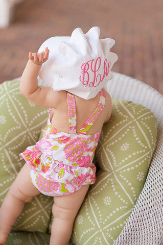 Beaufort Bonnet Worth Avenue White - Email to Order - Born Childrens Boutique