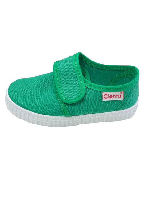Cienta Kids Velcro Green