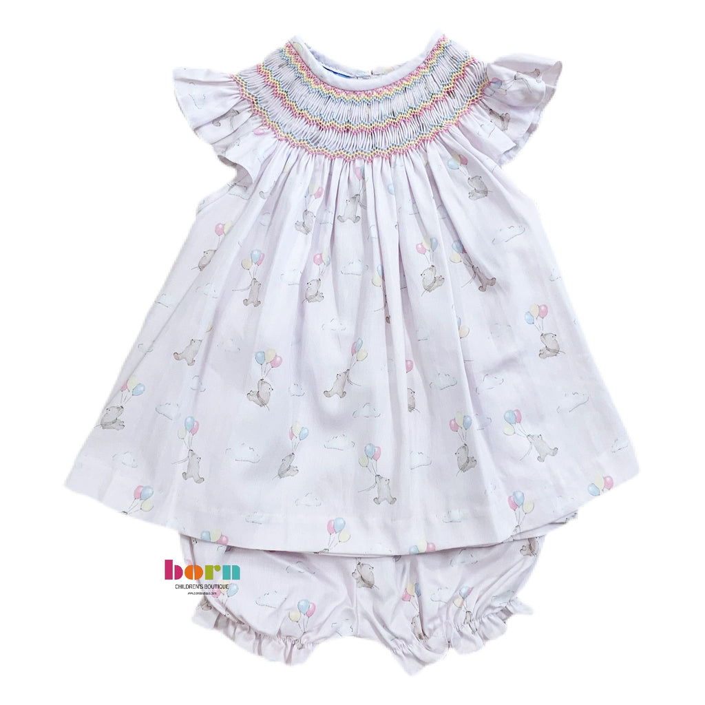 Katherine - Angel Wing Bloomer Set - Born Childrens Boutique