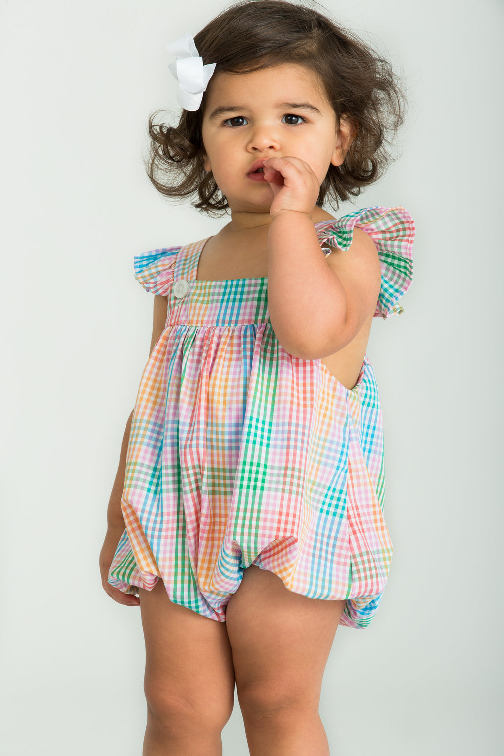 Lizzy D Bubble - Preppy Plaid - Born Childrens Boutique