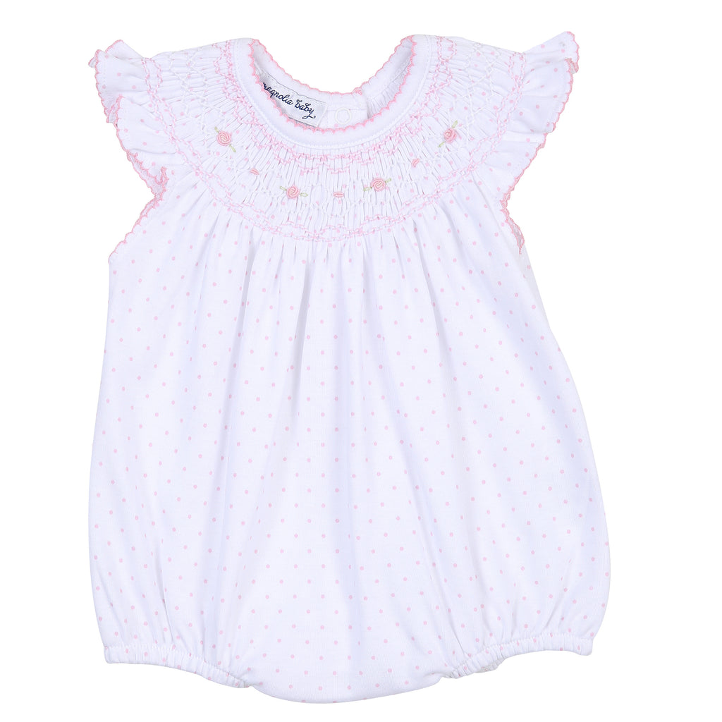 Alana and Andy's Classics Smocked Bubble - Born Childrens Boutique