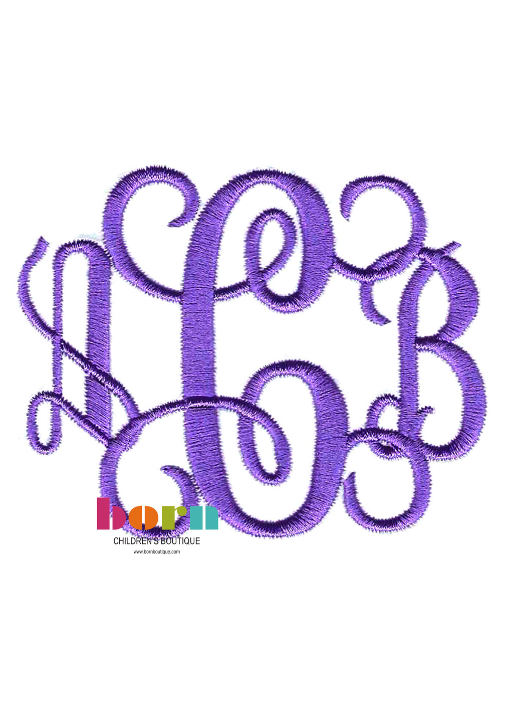Pendant Initials - Born Childrens Boutique