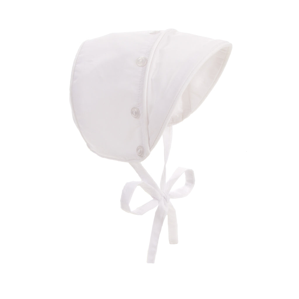Beaufort Bonnet Barringer Bonnet Worth Avenue White - Email to Order - Born Childrens Boutique