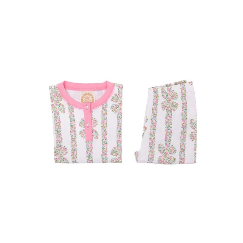 Sara Janes Sweet Dream Set - Rutledge Ribbons/Hamptons Hot Pink - Born Childrens Boutique