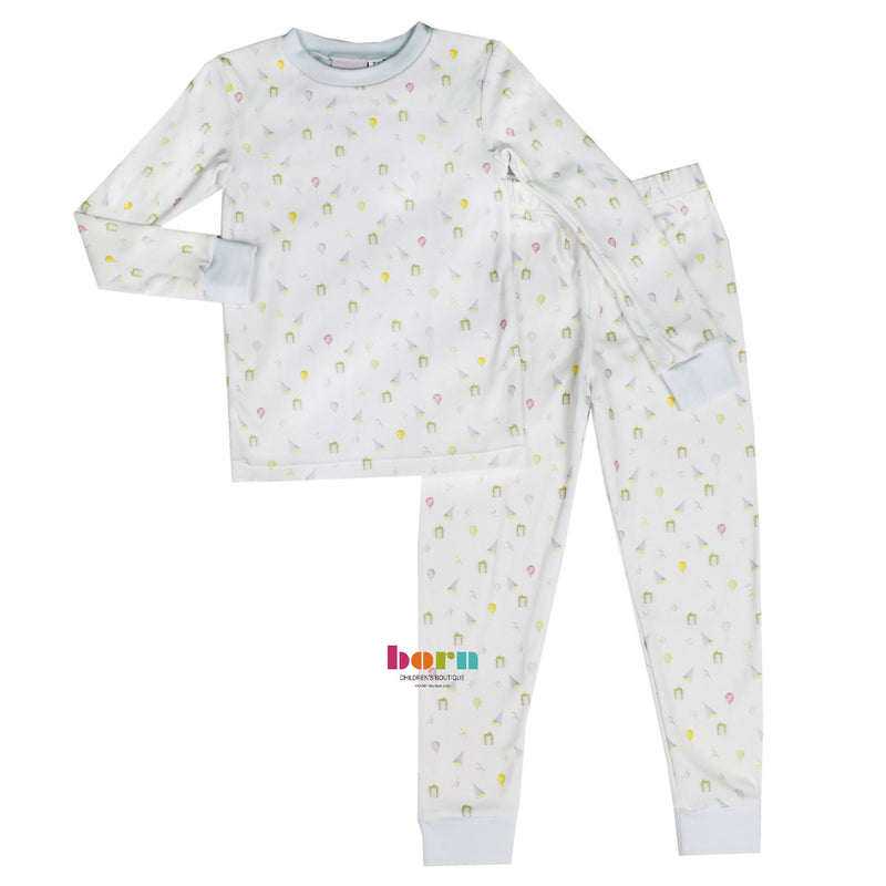 Sweet Pea PJ Set - Boy Party - Dream Big - Born Childrens Boutique