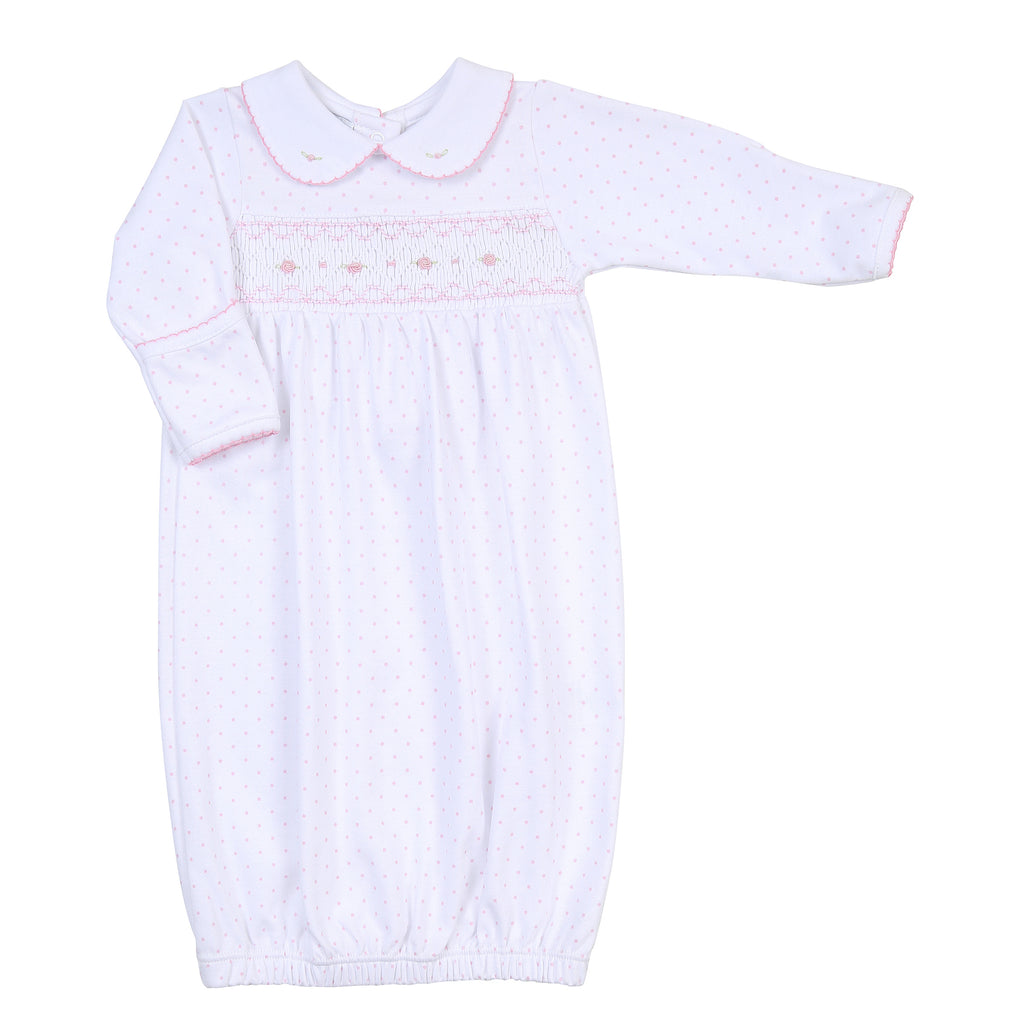 Alana and Andy's Classics Smocked Gown - Born Childrens Boutique