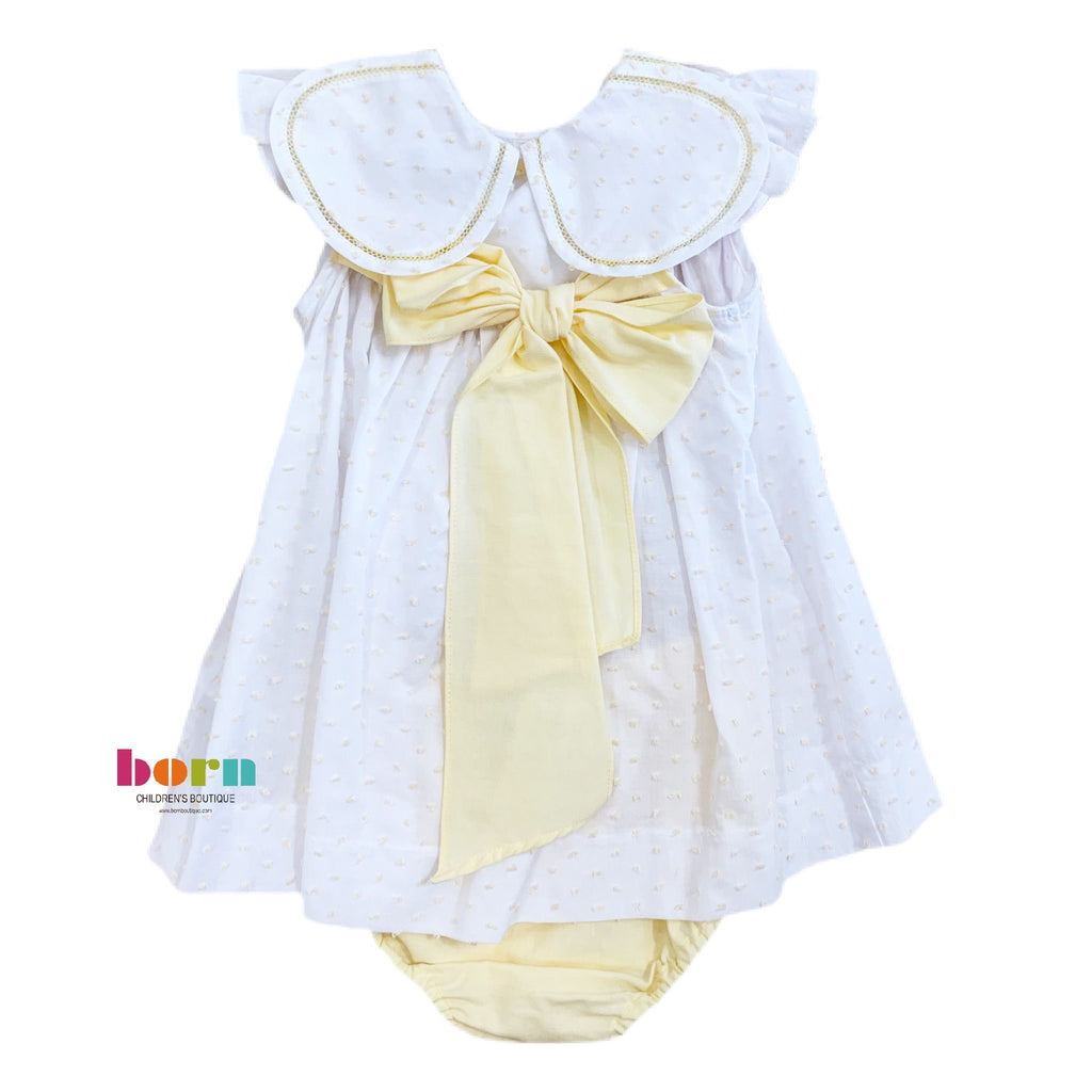 Yellow Dot Petal Float Set - Born Childrens Boutique