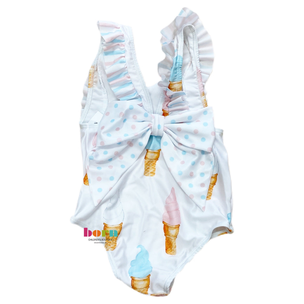 Ice Cream Swimsuit - Born Childrens Boutique