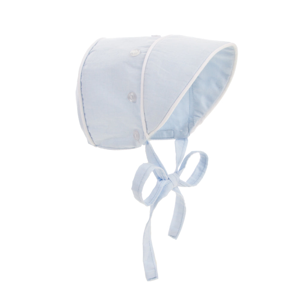 Beaufort Bonnet Barringer Bonnet Buckhead Blue -  Email to Order - Born Childrens Boutique