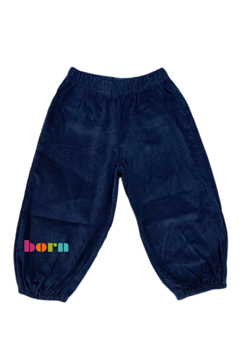 Boy Bloomer Pants Dark Royal - Born Childrens Boutique