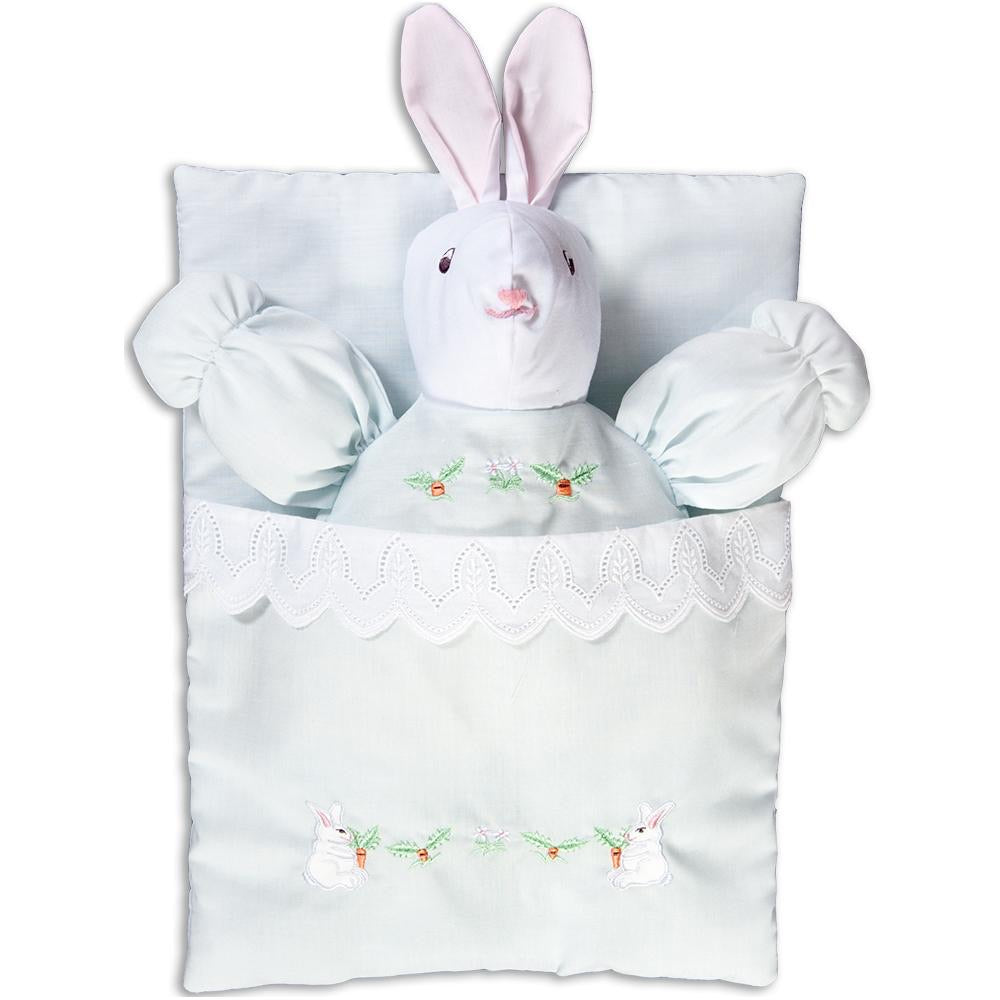 Blue Bunting Bunny - Born Childrens Boutique
