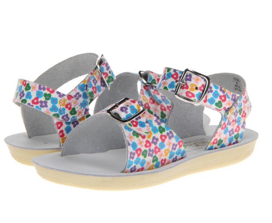 Sun San Surfer Sandal Floral - Born Childrens Boutique  - 2