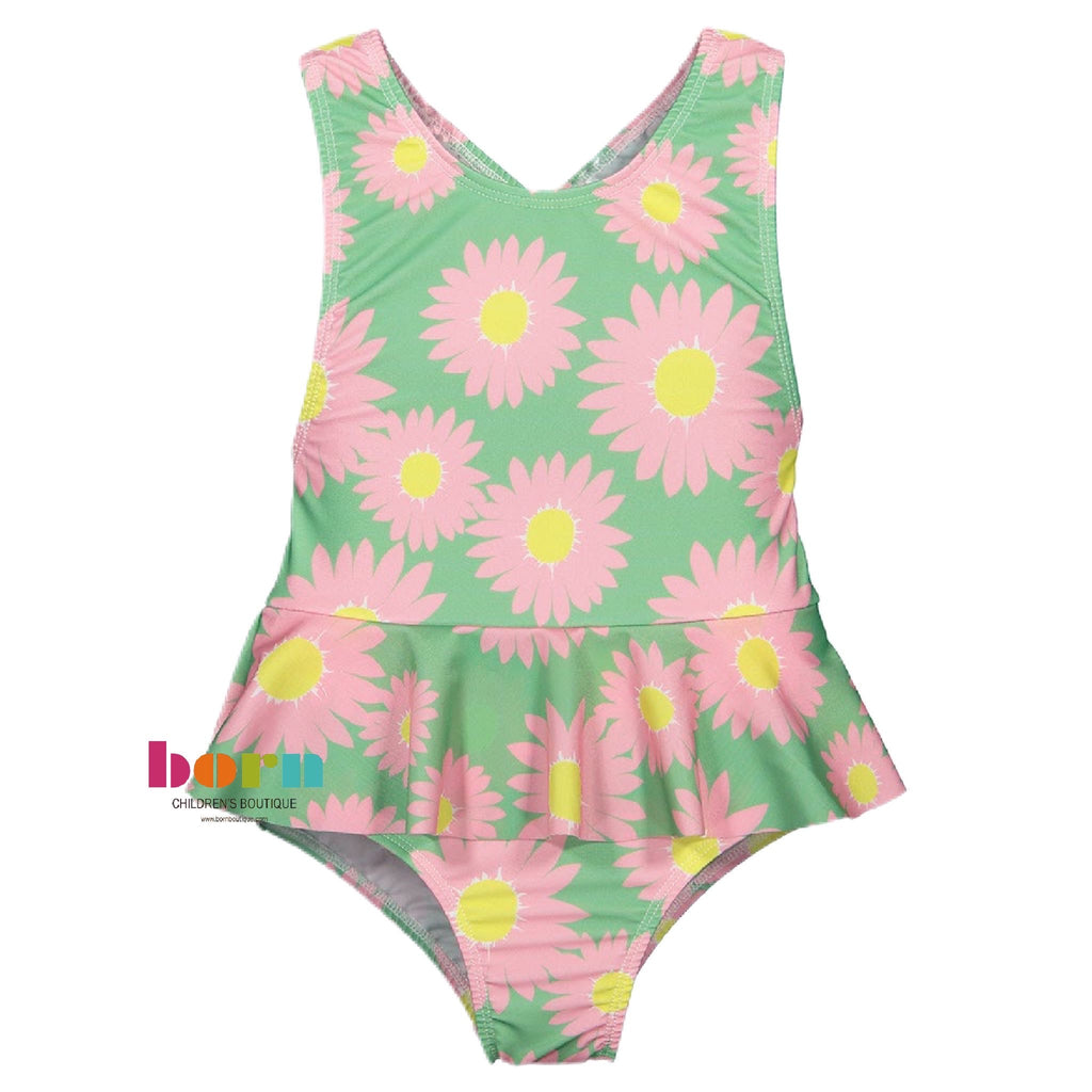 Curious Marigold Swimsuit - Born Childrens Boutique