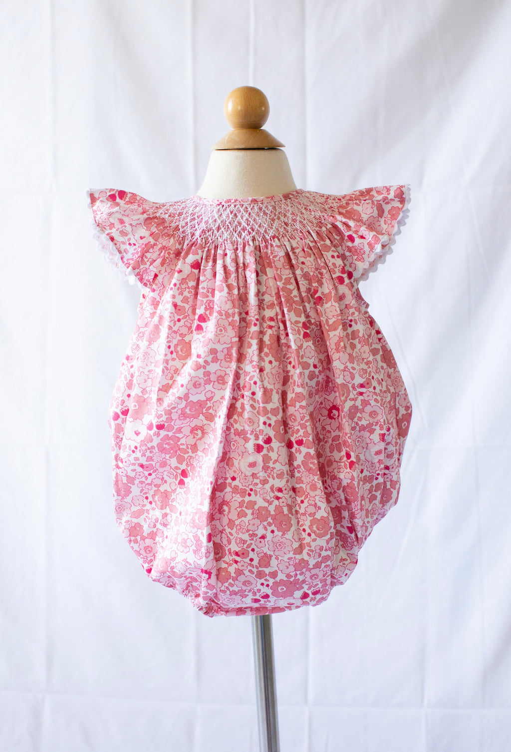 Millie Bubble - Pink Libba Floral - Born Childrens Boutique