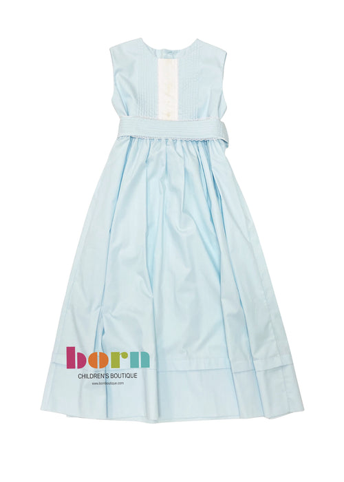Heirloom Sleeveless Robins Egg Blue Dress