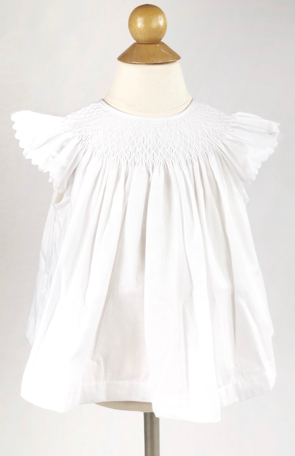 Girls Millie Top - White - Born Childrens Boutique