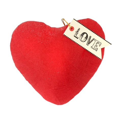 Deluxe Surprize Ball Love Red Heart-Shape 5.5""