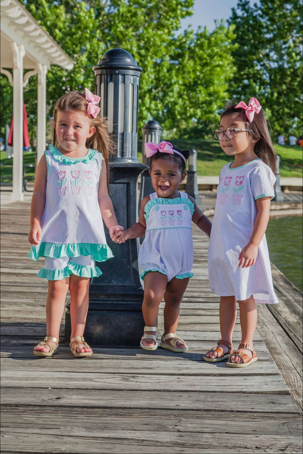 Tulip Dress Girls - Born Childrens Boutique