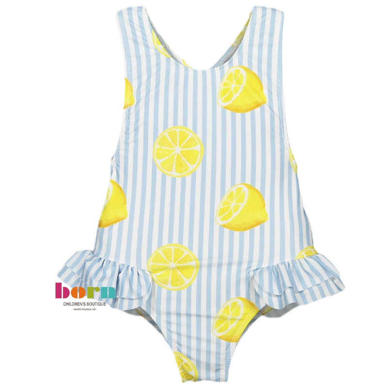 Summer Citrus Swimsuit - Born Childrens Boutique