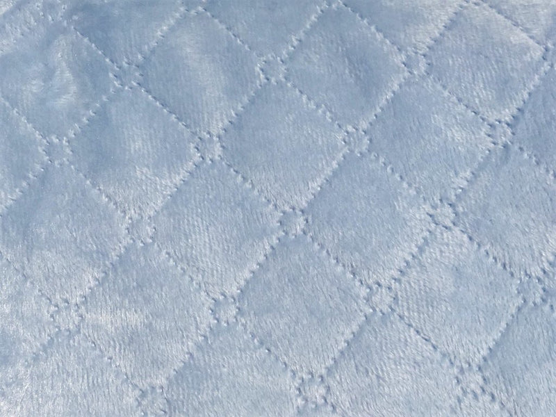 Nanas Quilted Blanket - Blue