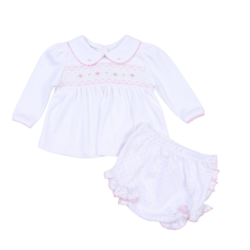 Alana and Andy's Classics Smocked Set - Born Childrens Boutique