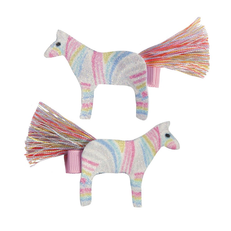 Diva Zebra Hairclip - Born Childrens Boutique