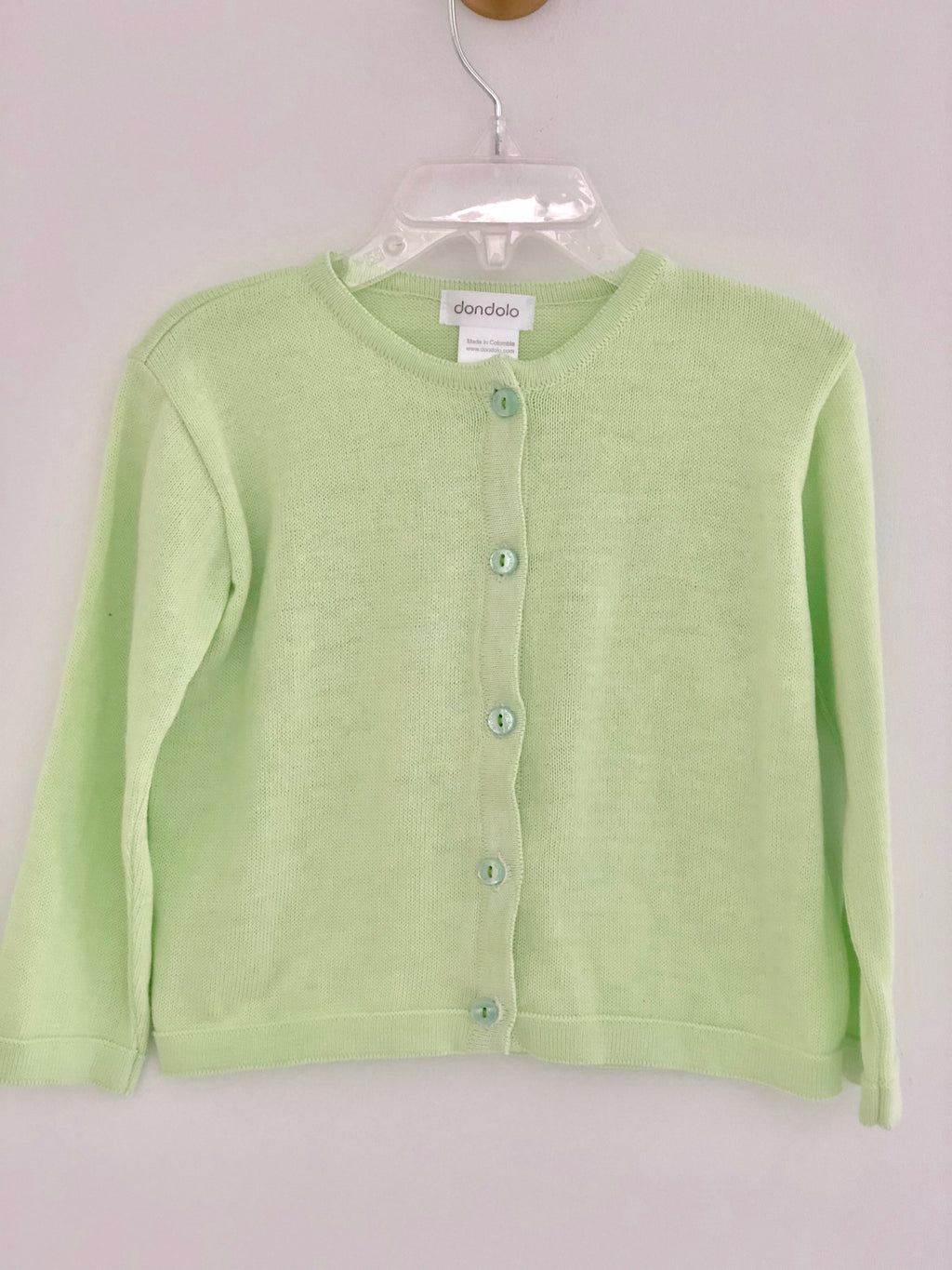 Pistachio Sweater - Born Childrens Boutique
