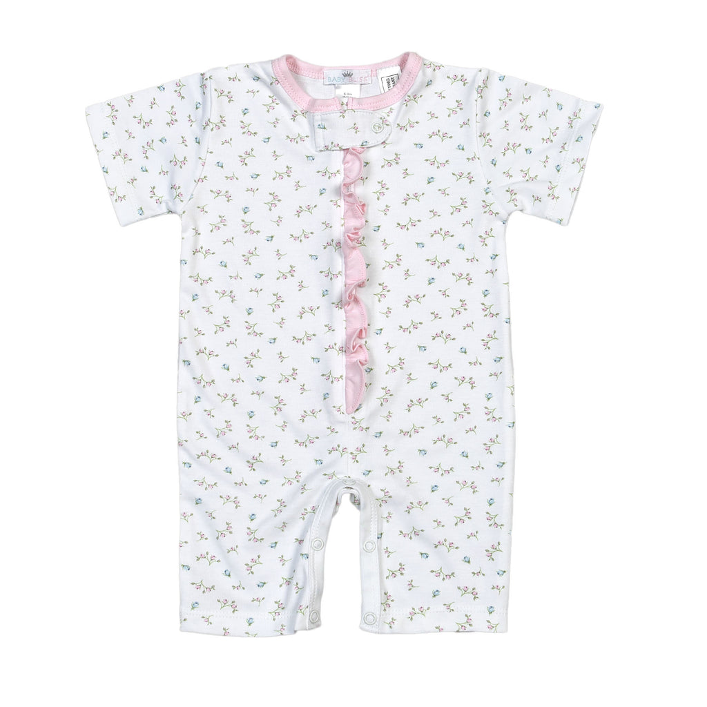 Chiara Pima Zipper Loungewear - Born Childrens Boutique