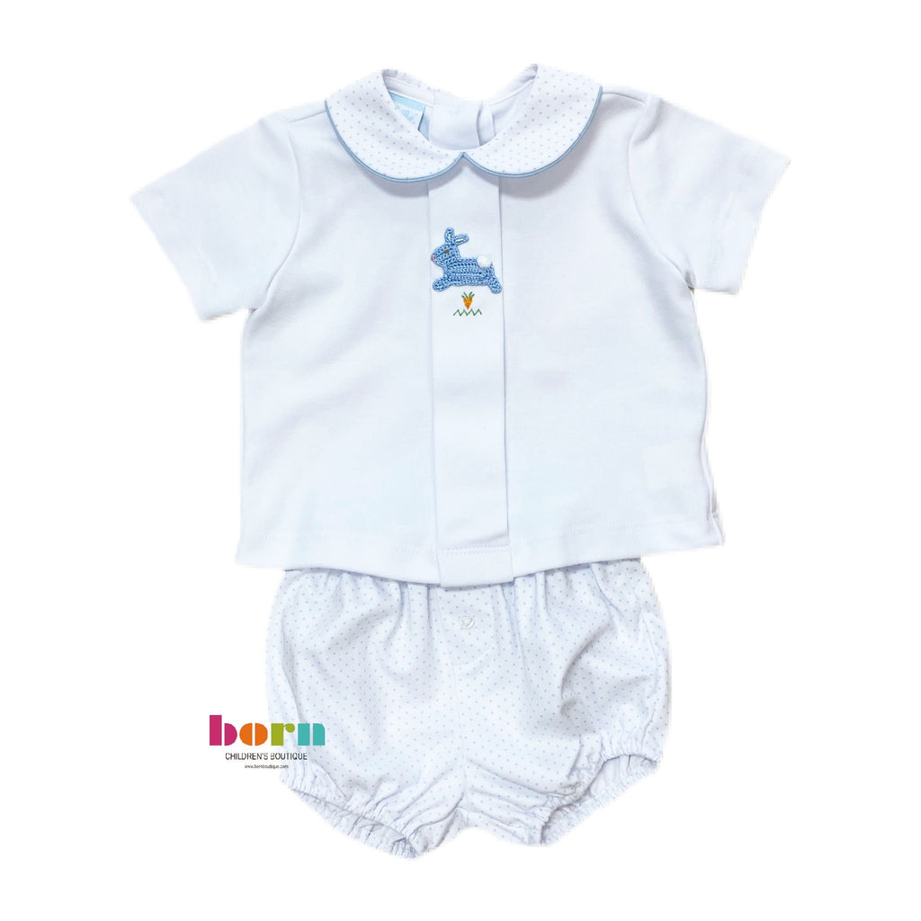 Hop Hop - Boy's Diaper Set - Born Childrens Boutique