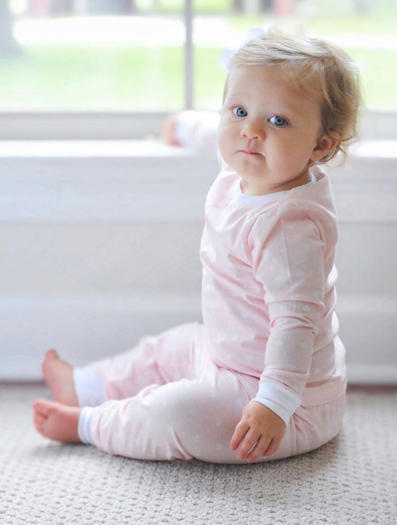 Pre-Order Hatley Two Piece Jammies - Heart