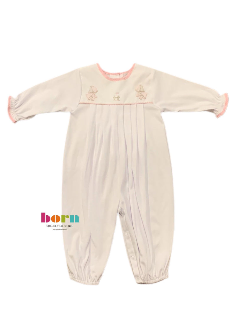 Knit Longall Pink Duck - Born Childrens Boutique