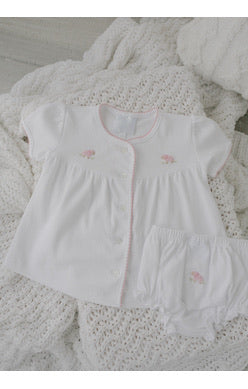 Pinpoint Layette Knit Set Sheep - Born Childrens Boutique