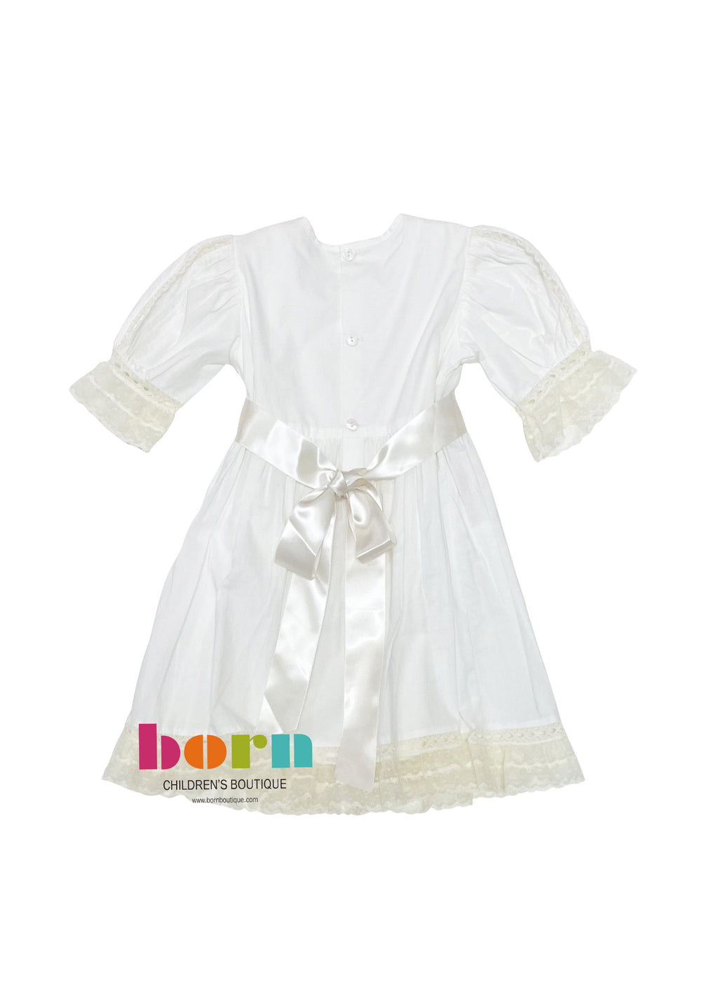 Layla Dress White