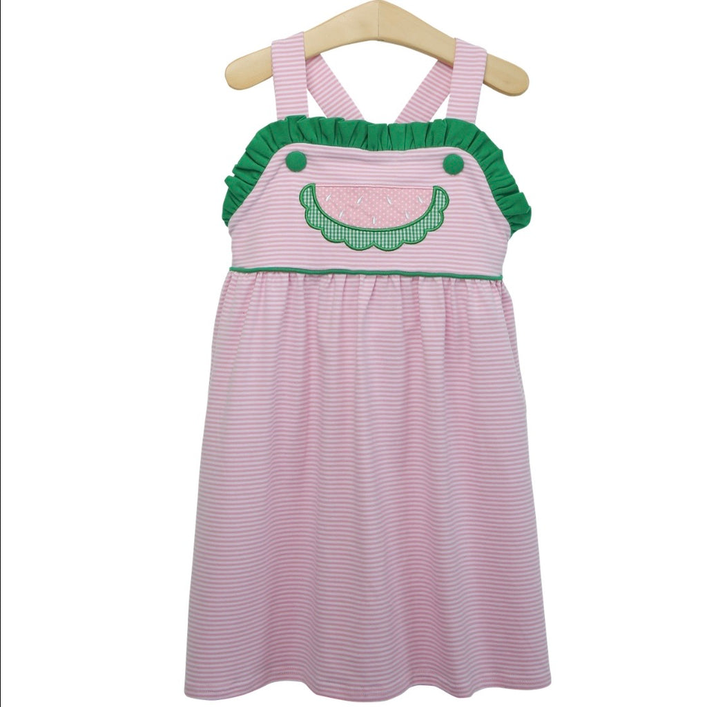 Watermelon Dress Girls - Born Childrens Boutique