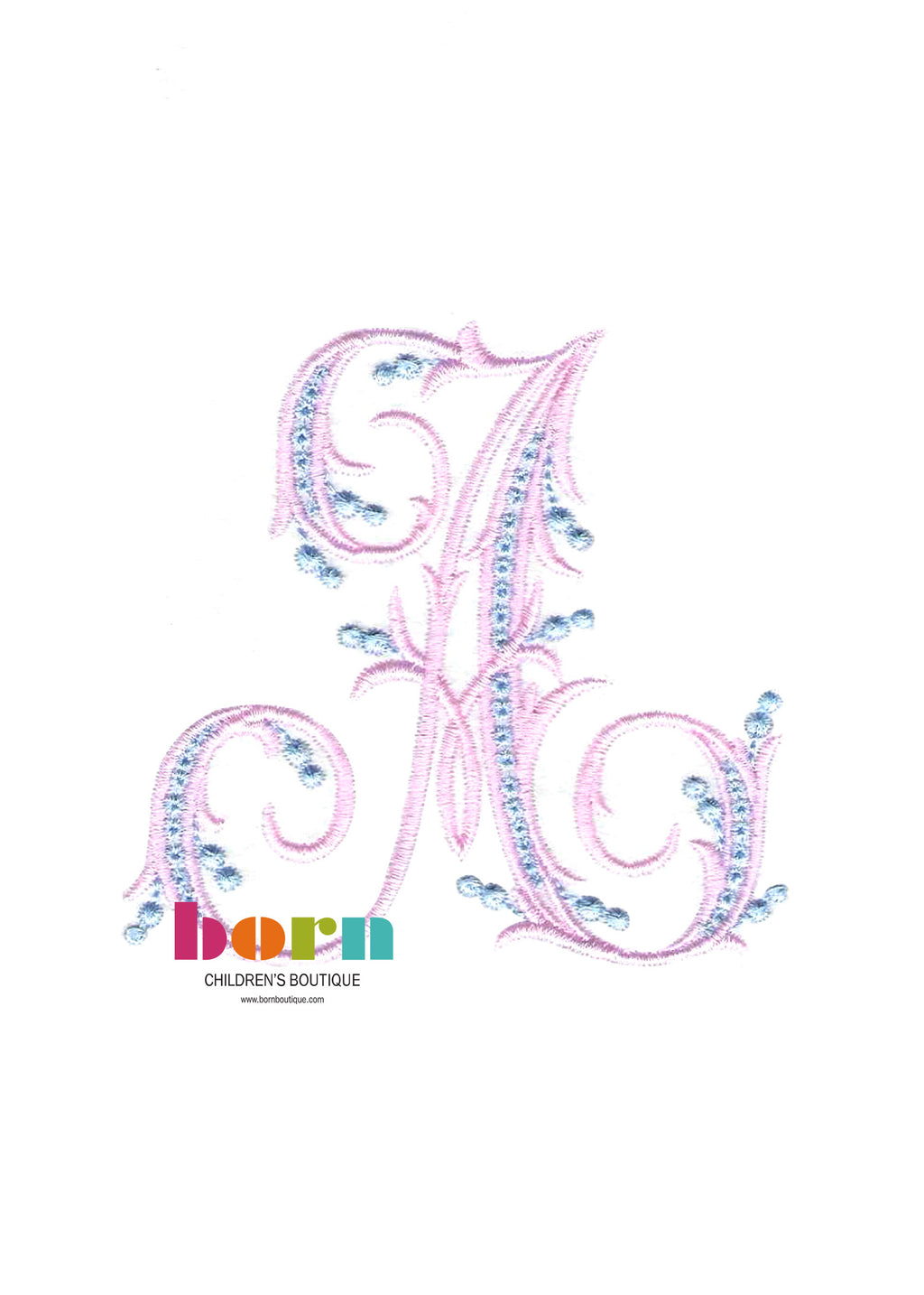 Arabesque 9 Initials - Born Childrens Boutique