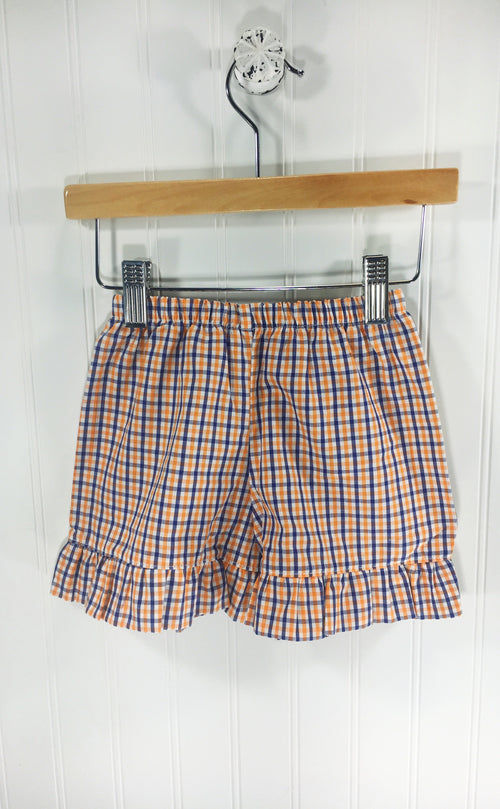 Girl Short Orange/Blue