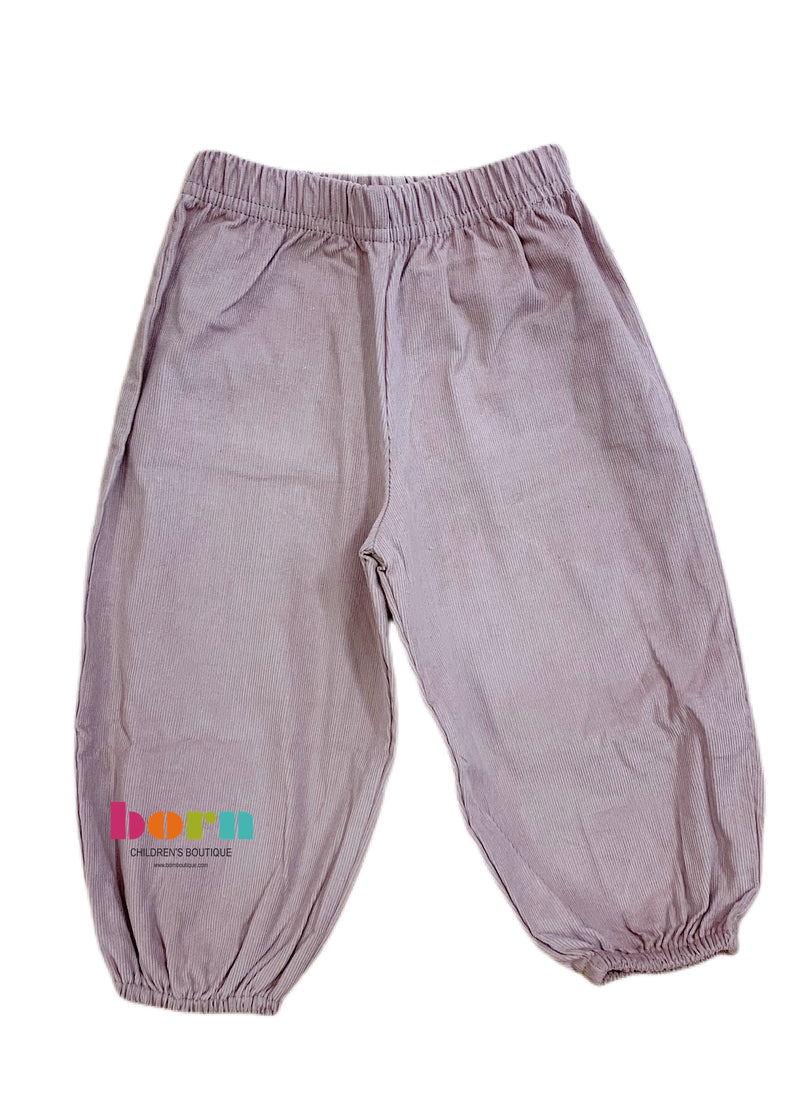Boy Bloomer Pant Sand Cord