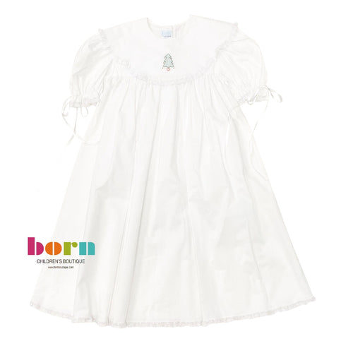 Heirloom Dress White with Tree