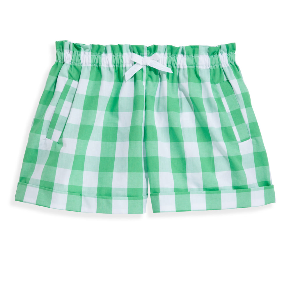 Mimi Short - Cricket Check - Born Childrens Boutique