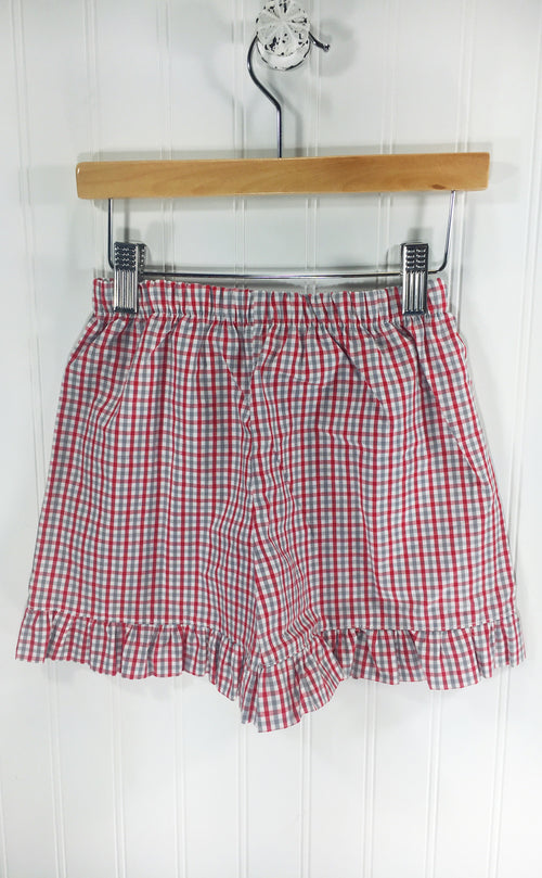 Girl Short Red/Grey