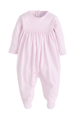 Welcome Home Footie - Pink - Born Childrens Boutique
